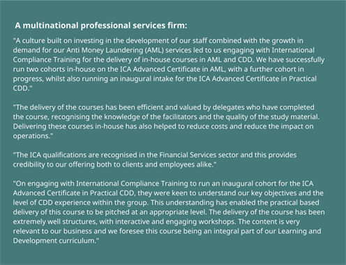 A Multinational Professional Services Firm - (2)